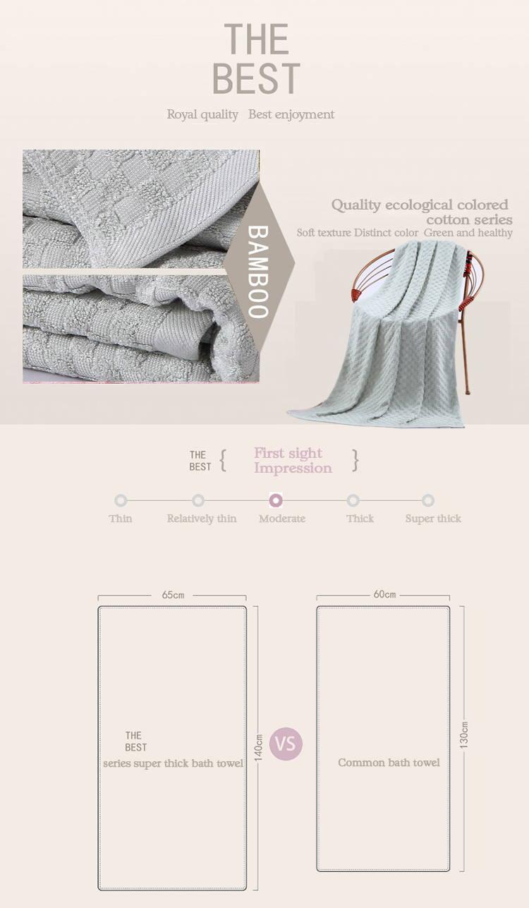 08b3684e80b8 Plain Dyed Gray Bath Towels Terry Cloth Yarn Dyed Hand Washing Clothes